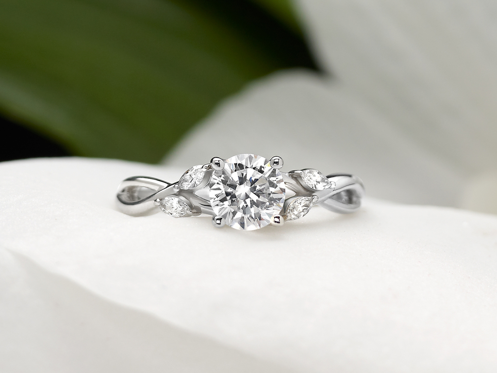 The Willow Diamond Ring