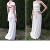 Eco-chic-wedding-dress-grecian-white-wrap-dress-jersey-perfect-for-destination-wedding.square