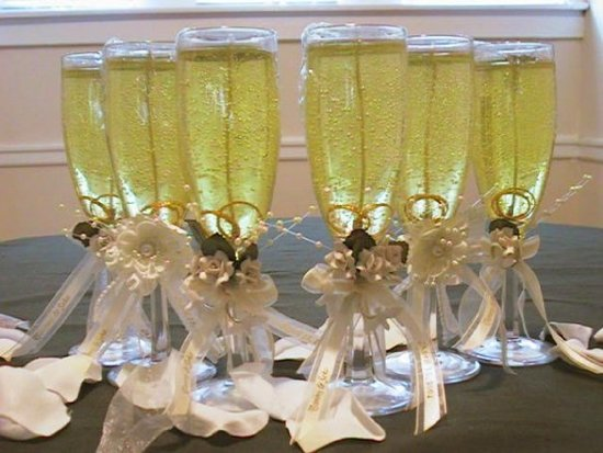 wedding guest/bridal candle gifts