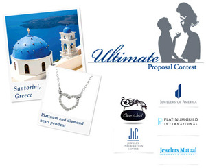 photo of Ultimate Proposal Contest: Win Platinum Bling and a Getaway to Santorini!