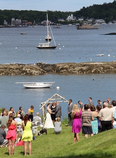 Get wed with the harbor as your backdrop