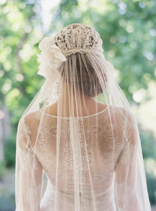 photo of Timeless & Elegant Juliet Cap Veils