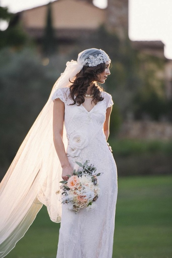 Amazing Bride with Veil