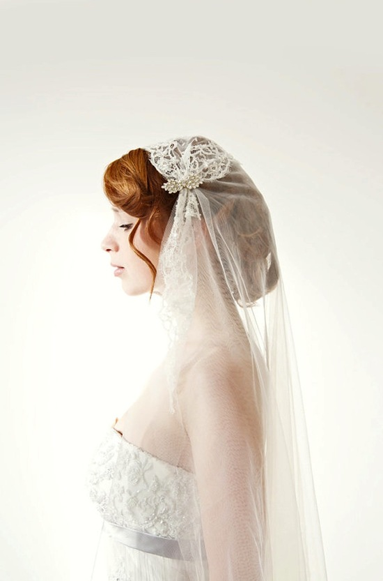 Beautiful Cap Veil