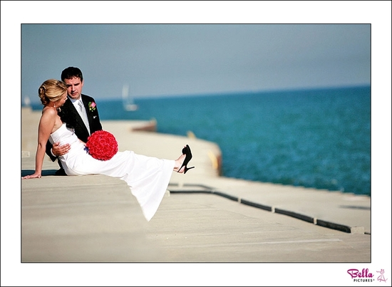 photo of Featured Wedding: Mikaela and Joel