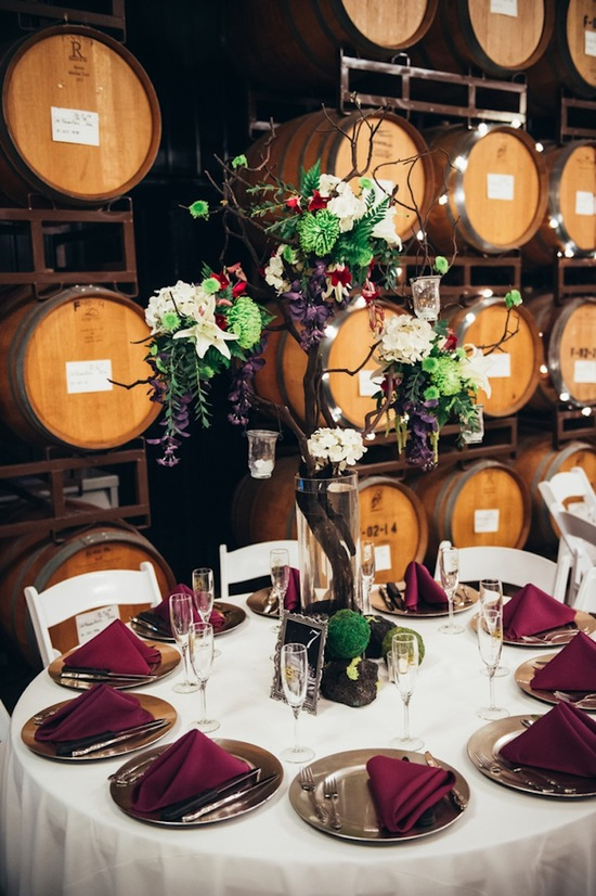 Wine Barrels Reception