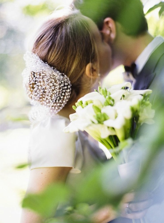 Gorgeous Wedding Snood