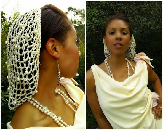 A Wedding Snood
