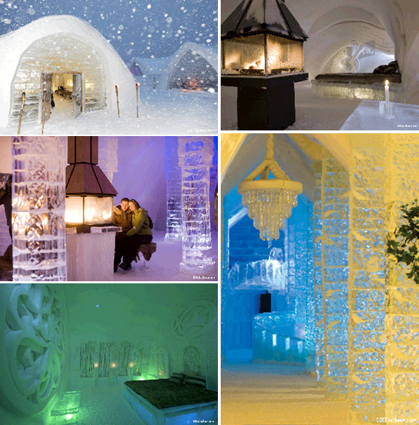 Soak Up All The Beauty Of This Romantic Ice Hotel In