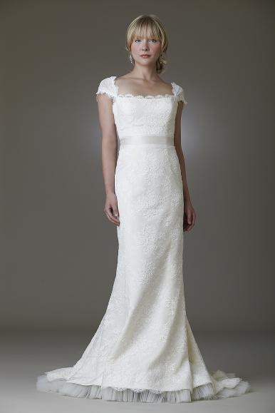 Stunning Paris wedding dress by Amy Kuschel- does not get any better!