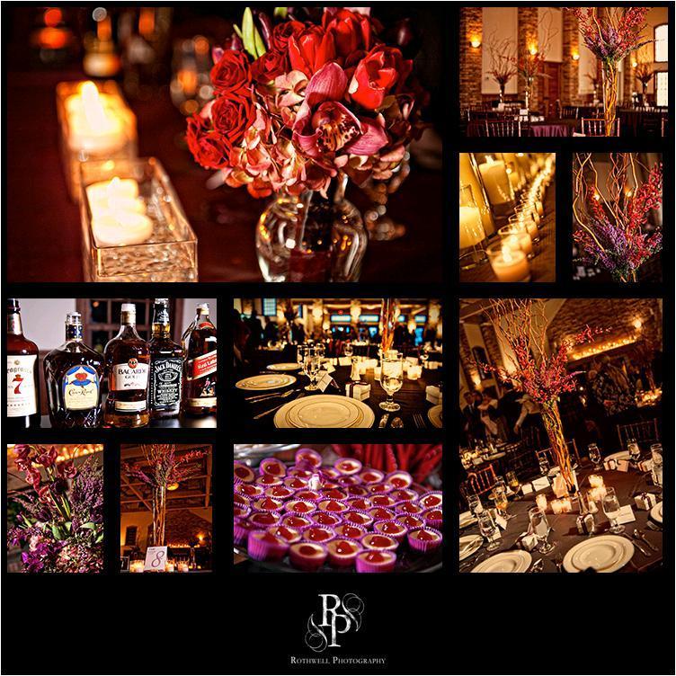 Gorgeous-red-purple-fuschia-wedding-details-high-topiari-low-floral-centerpieces-dessert-bar.full
