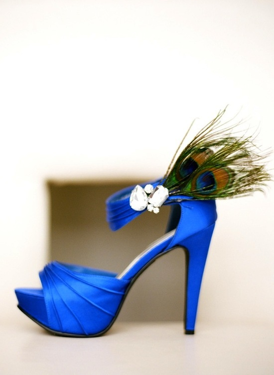 Peacock Blue Shoes