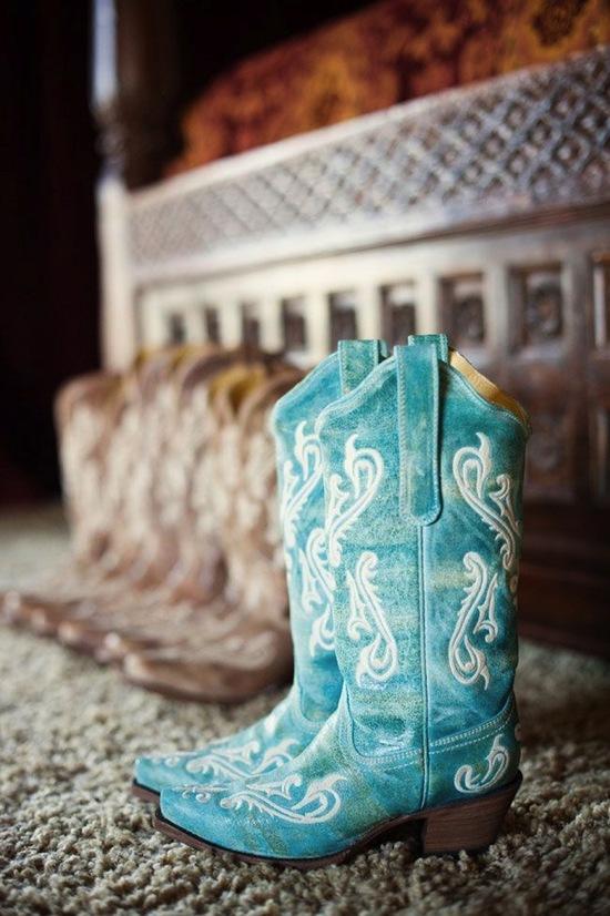 photo of Something Blue on Your Shoe!