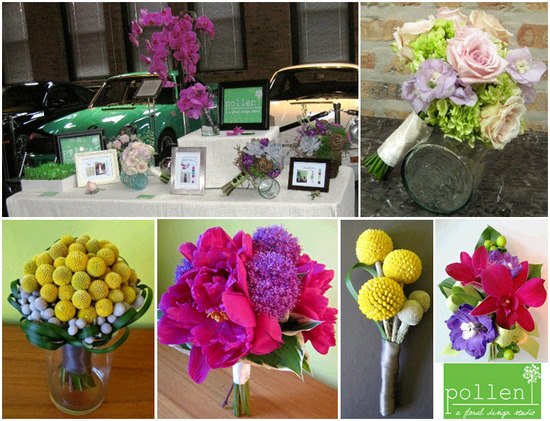 Stunning floral bouquets, corsages and centerpieces- eco-friendly and beautiful