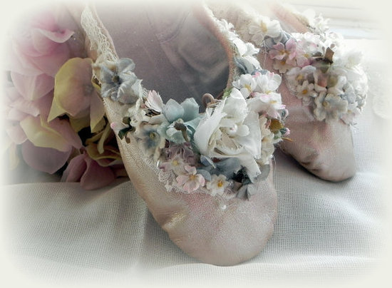 Fairytale wedding slippers