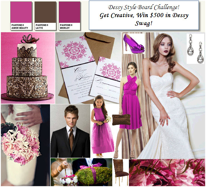 Chocolate-brown-fuschia-wedding-contest-save-win-dessy-style-board-challenge_0.full