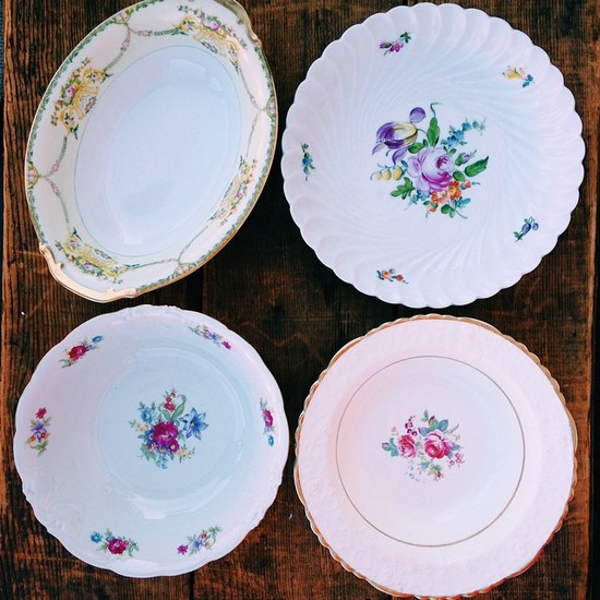 Vintage Serving Bowls