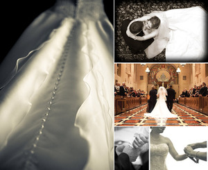 photo of Featured Wedding: Amy and Allan