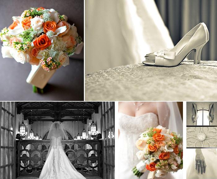 Vintage-orange-cream-peach-featured-wedding-antique-ivory-vibe-open-toe-satin-bridal-heels.full