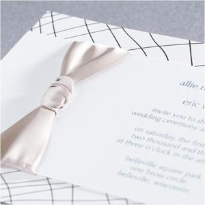 photo of Stunning, On Trend Wedding Invitations from Jean M!