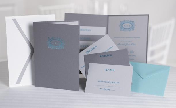Megan-custom-pocket-style-wedding-invitations-pewter-grey-teal-white.full