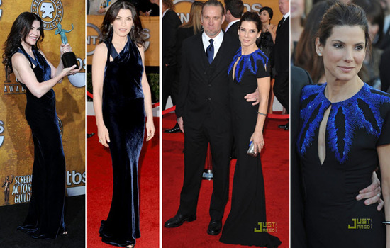Julianna Margulies and Sandra Bullock looked stunning at the 2010 SAG awards!