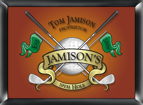 photo of Personalized 19th Hole Pub Sign