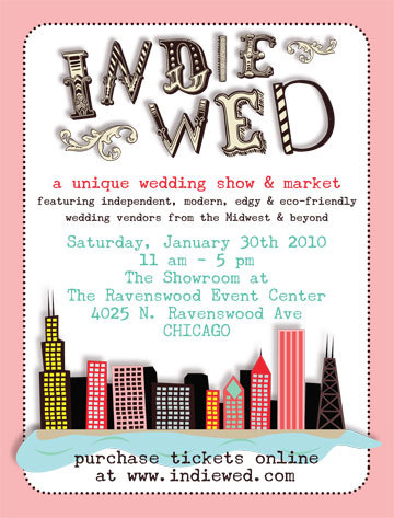 photo of Chicago Brides--Check Out the Indie Wed Market Next Weekend!
