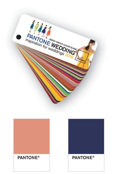 photo of Here Comes the Guide: The PANTONE WEDDING Color Guide from Dessy!
