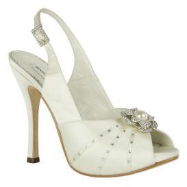 Sky high bridal heels from Benjamin Adams