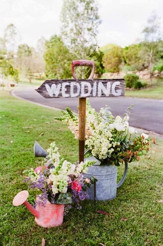 Spring Wedding Entrance