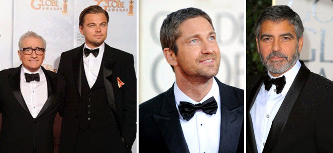 George Clooney, Leo DiCaprio and Gerard Butler looked fab at the 2010 Golden Globes