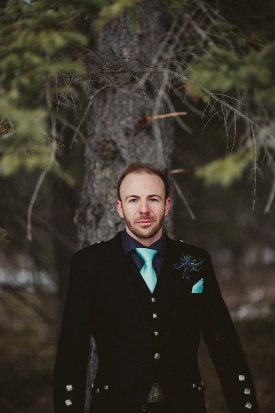 Dapper Grooms in Blue