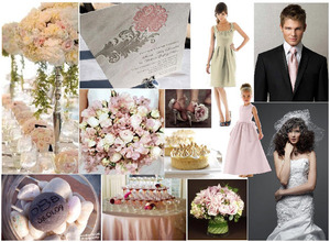 photo of Blush and Taupe Wedding Inspiration from Dessy!