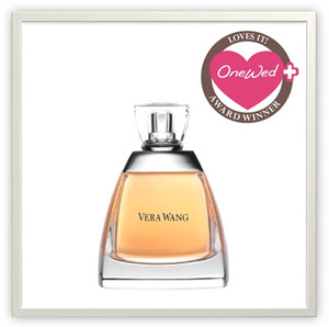 photo of OneWed loves Vera Wang's intimate floral Signature eau de parfum