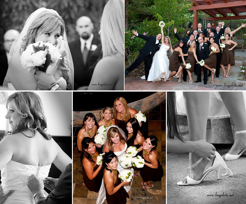 Bride-gets-ready-puts-on-wedding-dress-with-help-of-bridesmaids-white-ivory-floral-bouquets-green-details.full