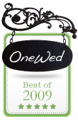photo of OneWed Announces The Best Wedding Vendors of 2009!