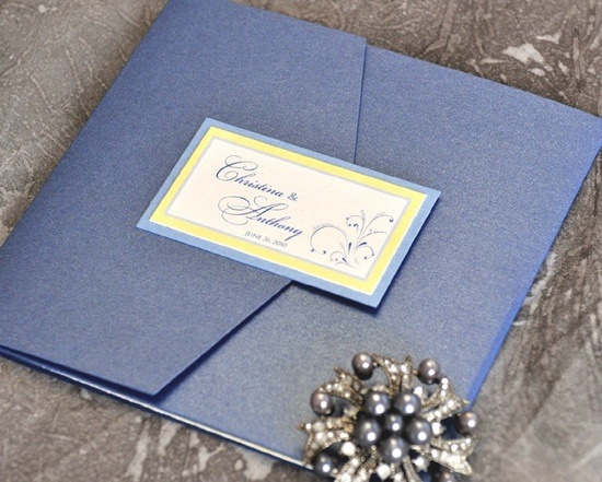 Wedding Invitation Trend: Say it with Color!