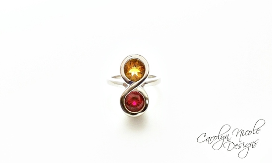 Infinity Ring by Carolyn Nicole Designs (1)