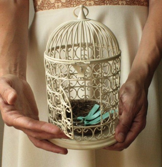 Bird Cage Rings