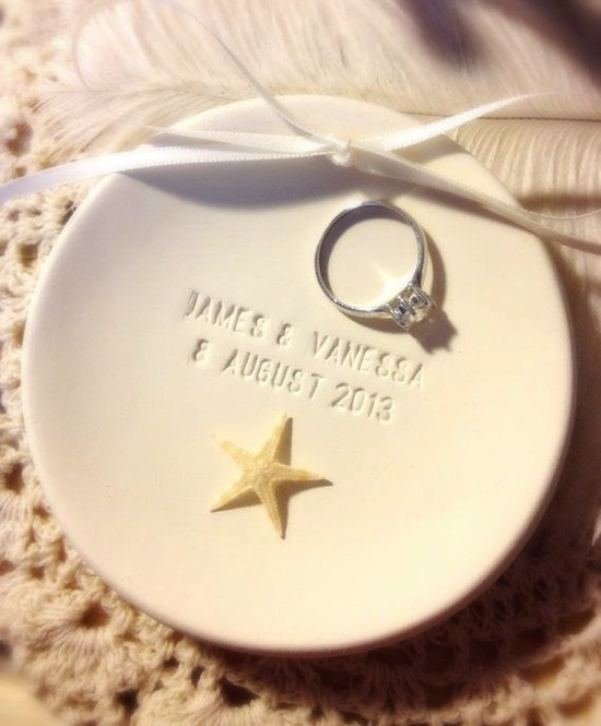 Small Wedding Plate