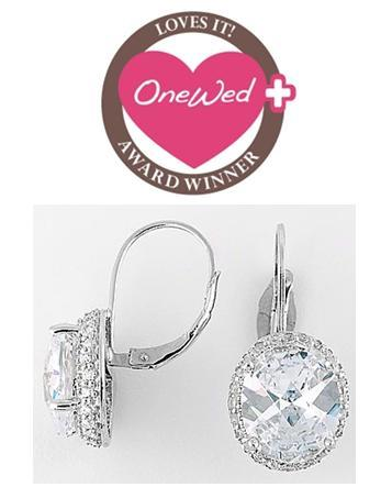 photo of Savvy Steals Winner- Dazzling Drop Earrings for One Blushing Bride!