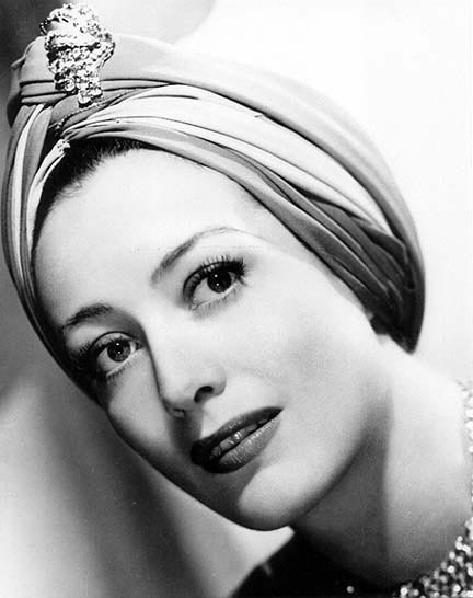 Jeweled turban that became a trend in the 1920s and 1930s