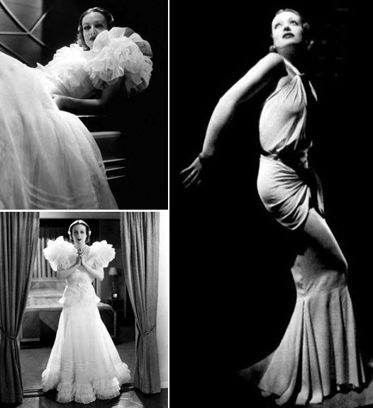 The awe-inspiring Joan Crawford in Letty Lynton dress