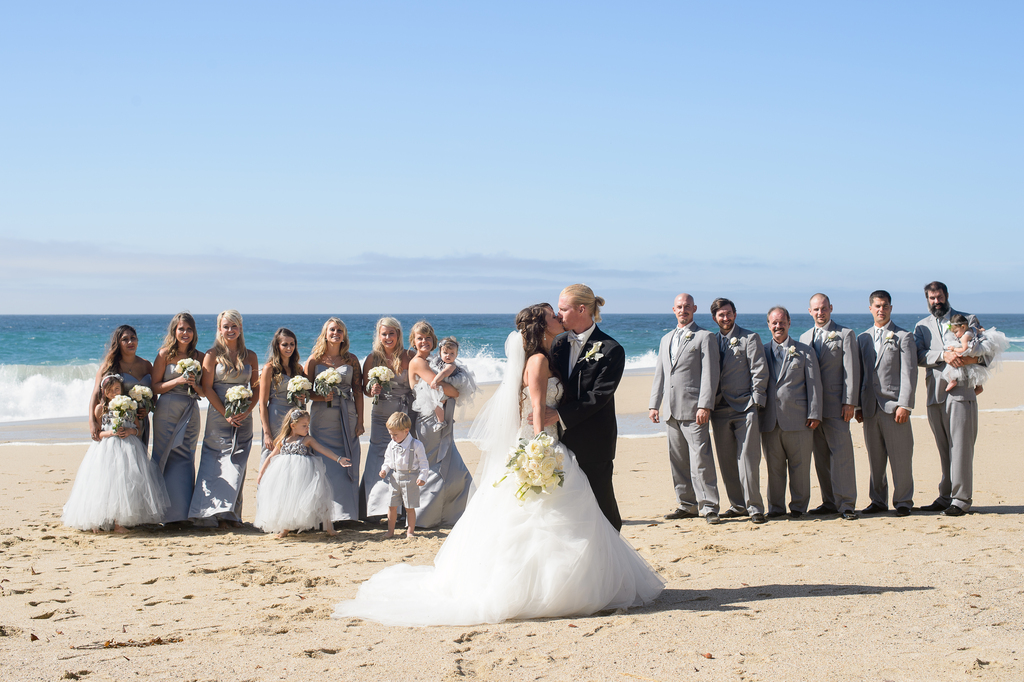 Sur Beach Wedding Party