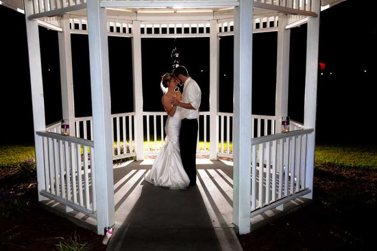 First Dance in a Gazebo
