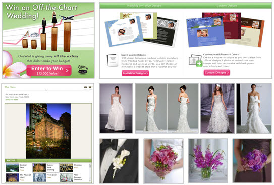 New Wedding Planning tools--wedding giveaway, wedding flowers, wedding dresses, wedding venues, wedd