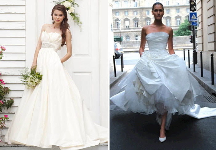 Alyssa-milano-vera-wang-wedding-dress-look-for-less.full