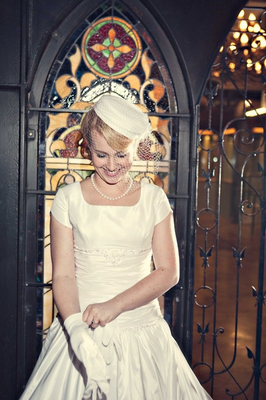 photo of Featured Bridal Shoot: Vintage Glamour!