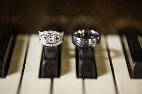 Rings on a Piano Side by Side